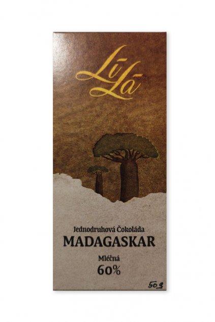 Madagaskar Mléčná 60% Lílá 1