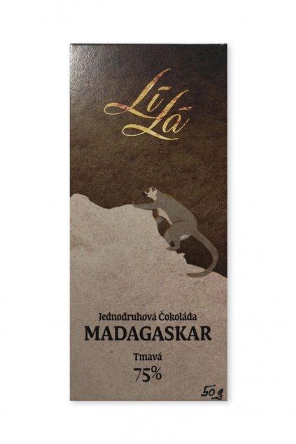 Madagaskar Tmavá 75%% Lílá 1