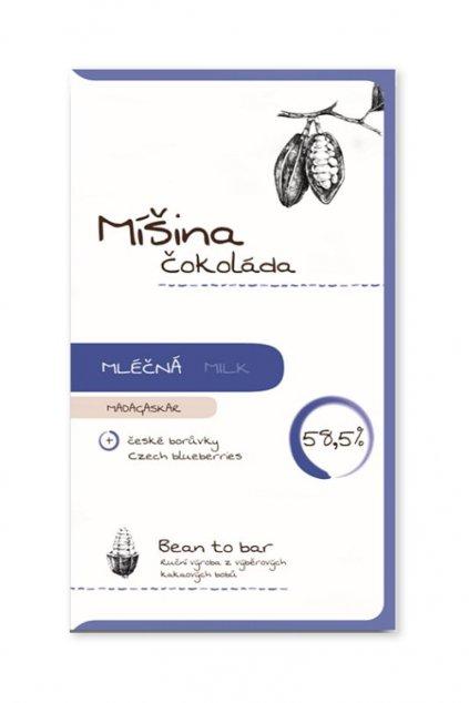 Míšina čokoláda Madagascar Borůvková