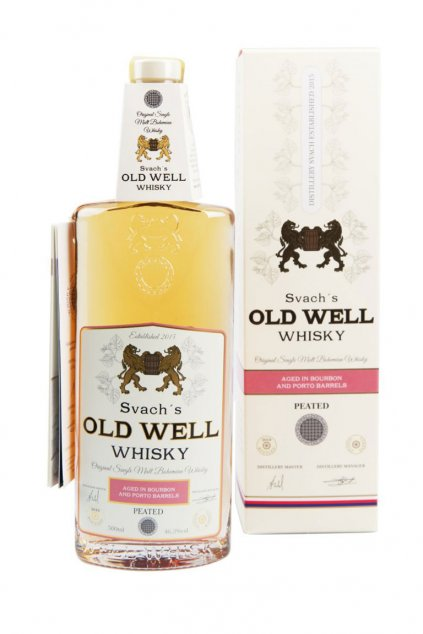 Svachovka old well whiskey Porto 46,3 2