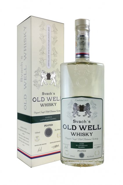 Svachovka old well whiskey laphroaig 42,4 2