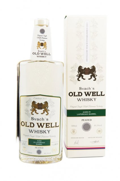 Svachovka old well whiskey laphroaig 46,3 1