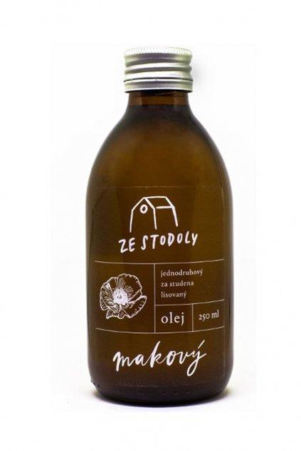 Makový olej 250ml ze Stodoly