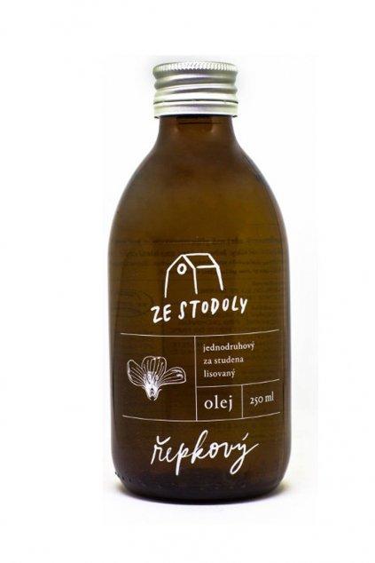 Řepkový olej 250ml ze Stodoly