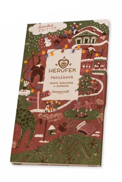 Herufek Perníková čokoláda Gurmetéka