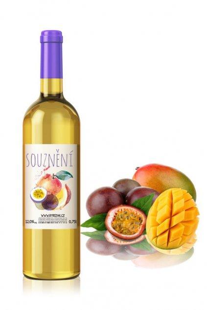 Souznění ovocné víno mango marakuja
