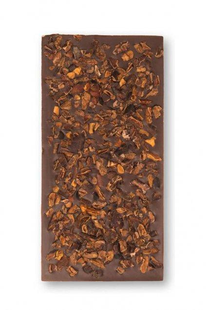 Calypso tmavá s kousky bobů Moonchocolate Gurmetéka