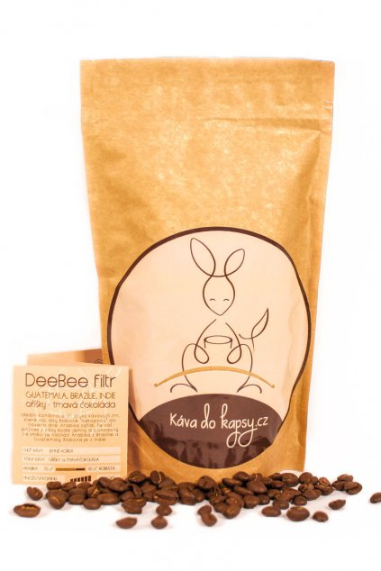 DeeBee káva do kapsy Gurmetéka