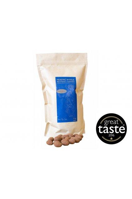 Mandle v mléčné čokoládě se skořicí, 1 kg