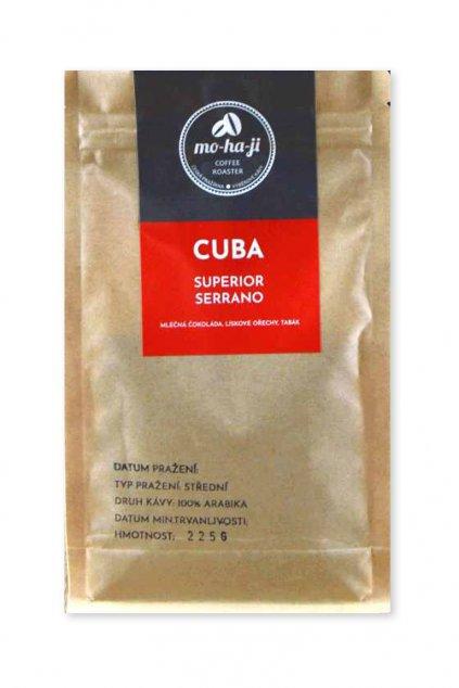 Káva Cuba Superior Serrano