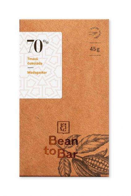 Čokoládovna Janek Tmavá 70% Madagaskar
