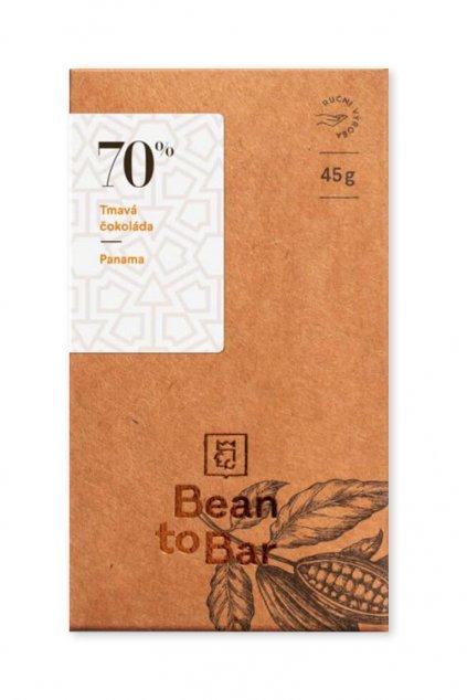 Čokoládovna Janek Tmavá 70% Panama