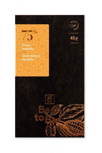 Čokoládovna Janek Tmavá 75% Dominikánská republika