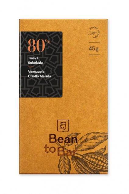 Čokoládovna Janek Tmavá 80% Venezuela