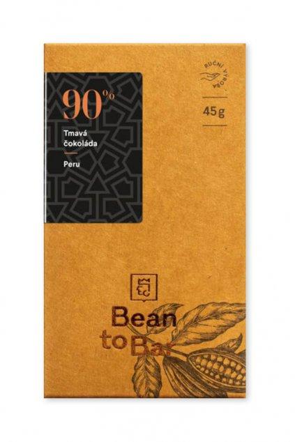 Čokoládovna Janek Tmavá 90% Peru