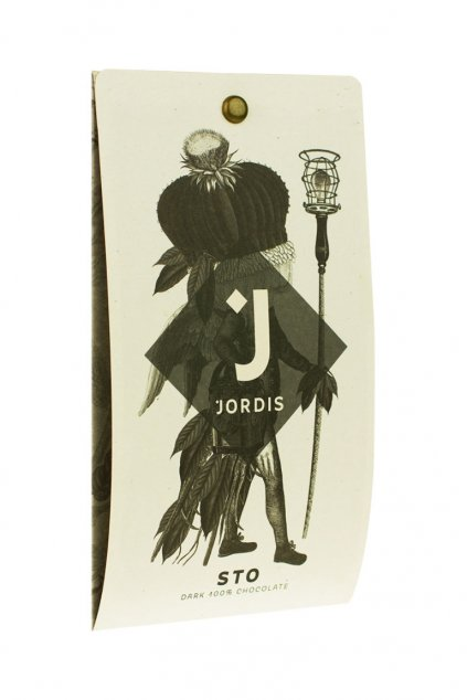 Jordis Tmavá čokoláda 100%
