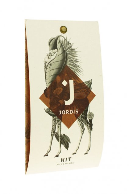 Jordis Mléčná 53% s kousky bobů