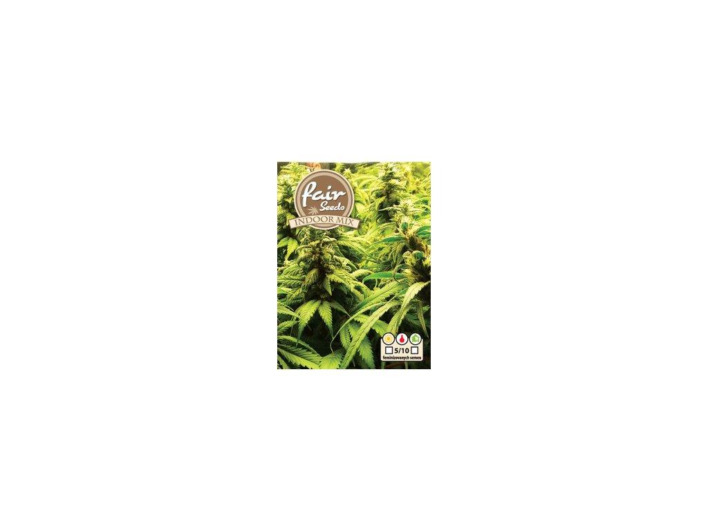 Fair Seeds Indoor mix, feminizovaná  semena marihuany, 10ks