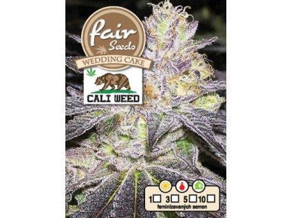 fair seeds WEDDING CAKE CALIWEED 2020