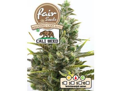 fair seeds AUTO WEDDING CAKE CALIWEED 2020