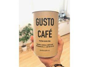 Káva v dárkové tubě