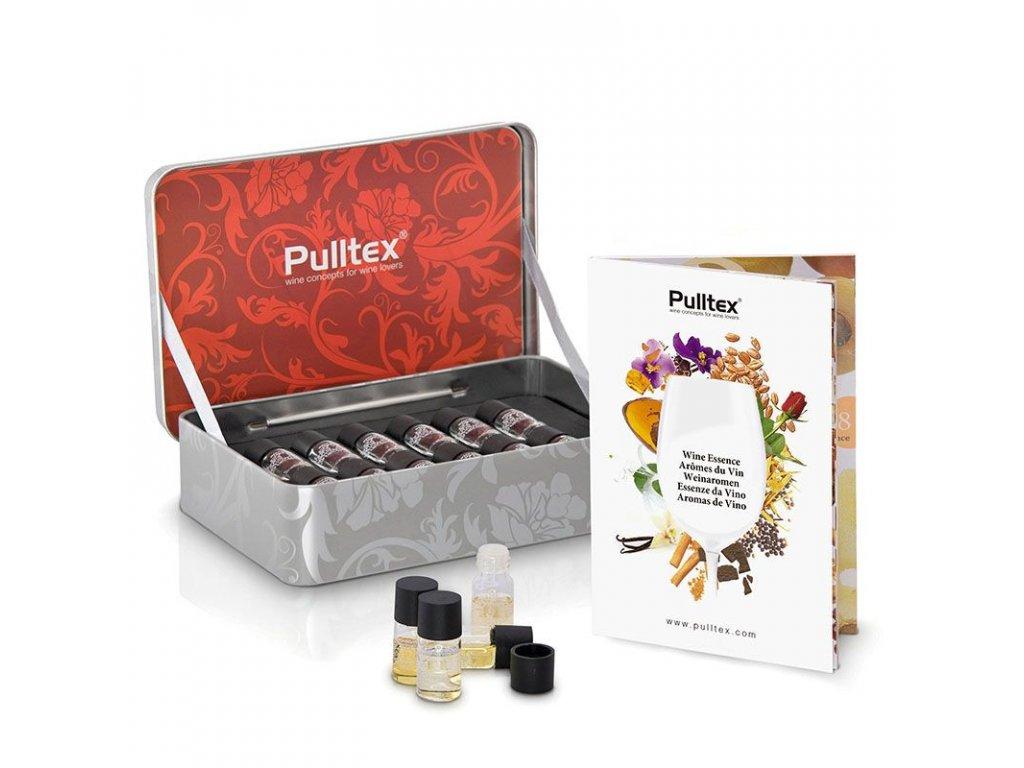 Esence pro červená vína 12 lahviček Pulltex Red Wine Essence Set