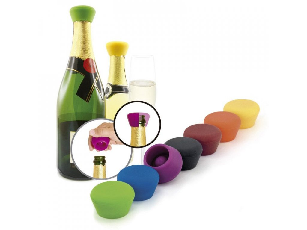 Pulltex Silicone Champagne Stopers (2pcs.)
