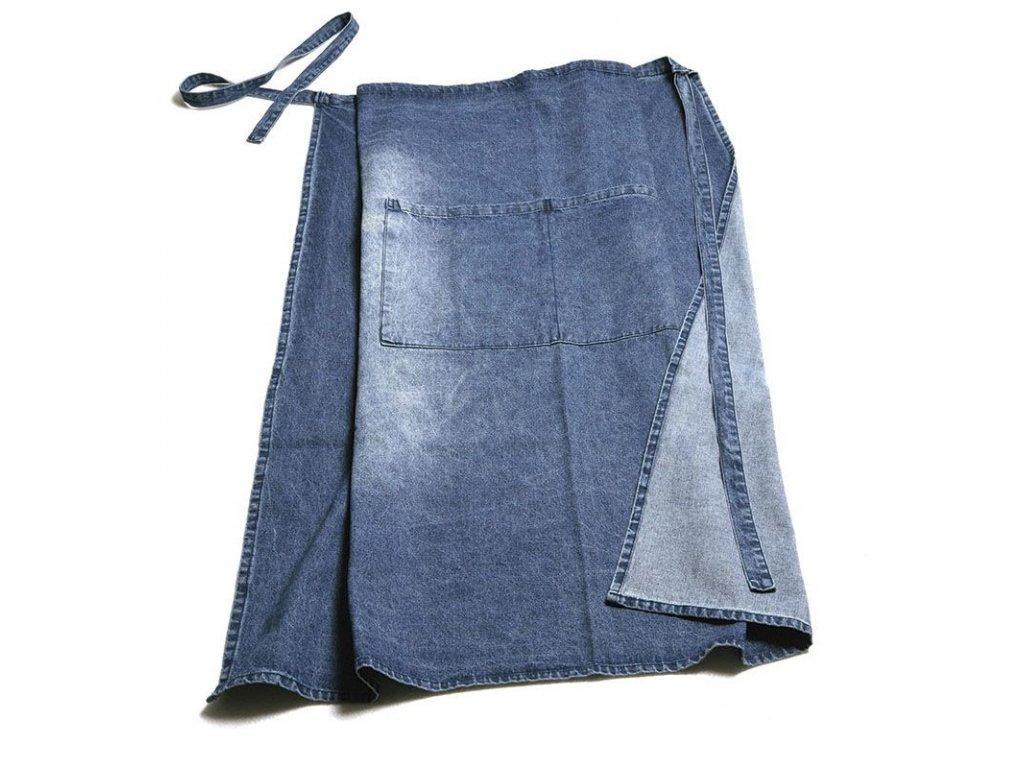 Džínová sommeliérská zástěra Pulltex Jeans Apron