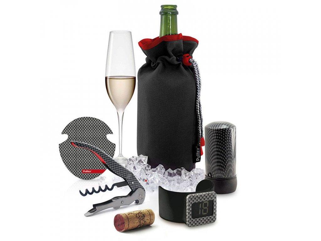 Set 5 výrobků na víno Pulltex MONZA Complete Set