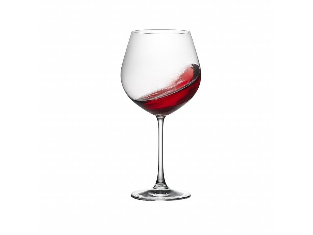 RONA Sklenice na víno Burgundy MAGNUM 650 ml