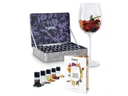 Sada 40 lahviček vinných esencí Pulltex Complete Wine Set