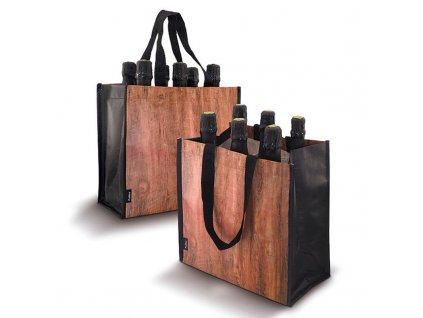 wine bag wood