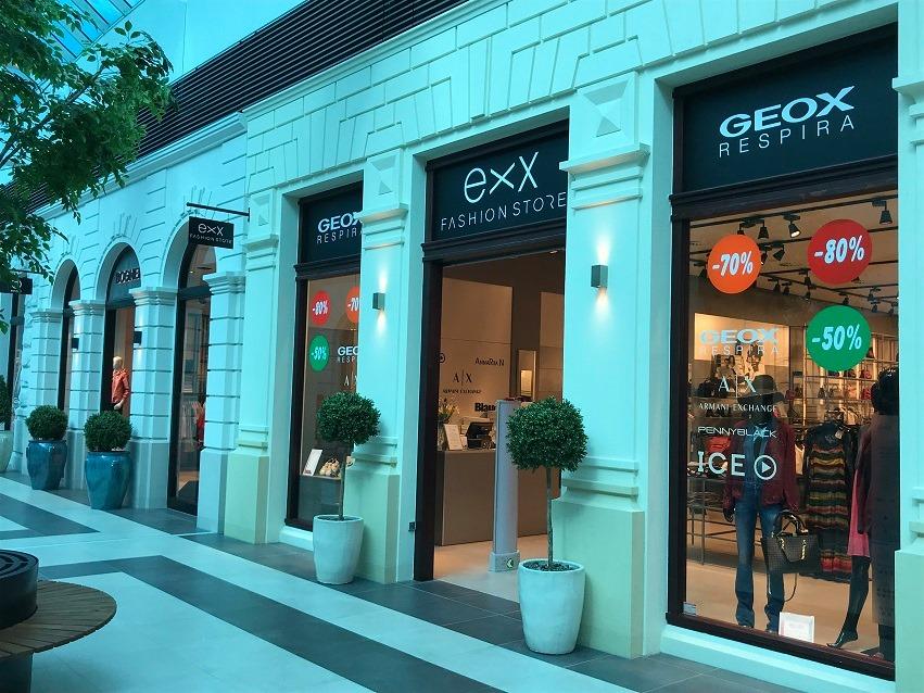Prodejna EXX FASHION STORE