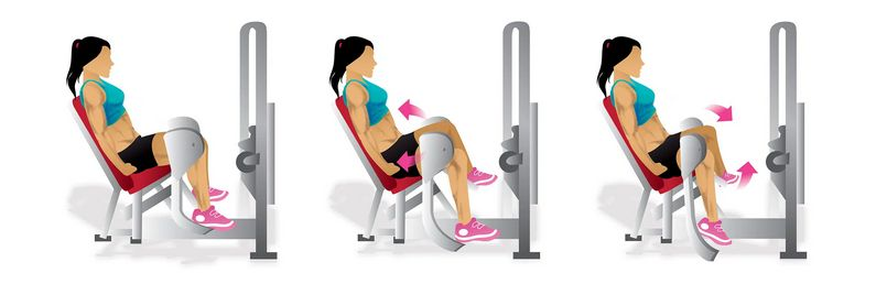 outer thigh machine