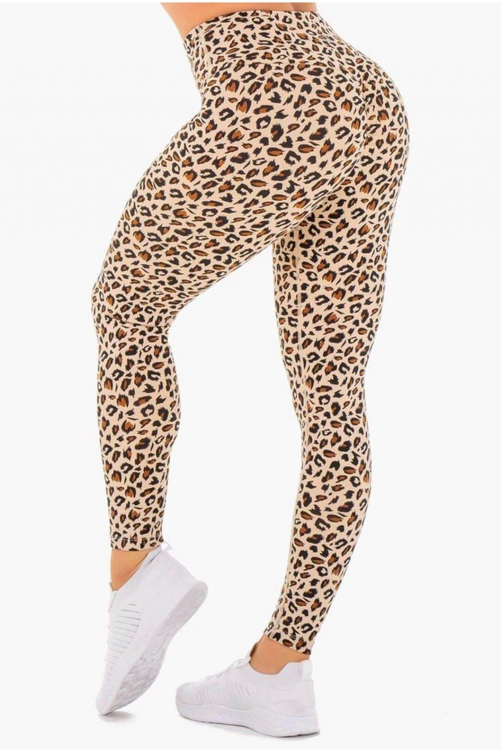 Dámské legíny Heather Leopard Beige