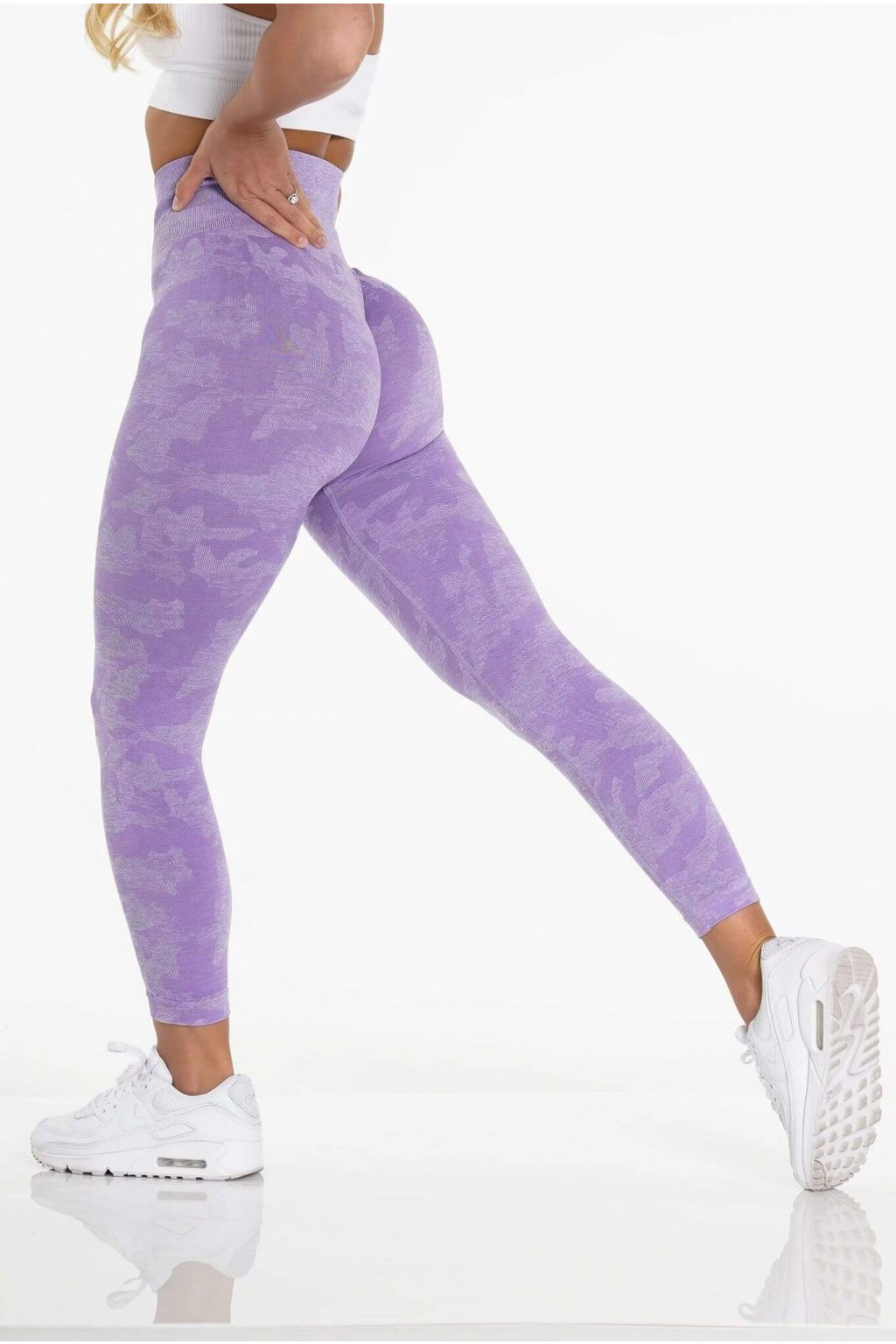Dámské legíny Wild Camo Purple