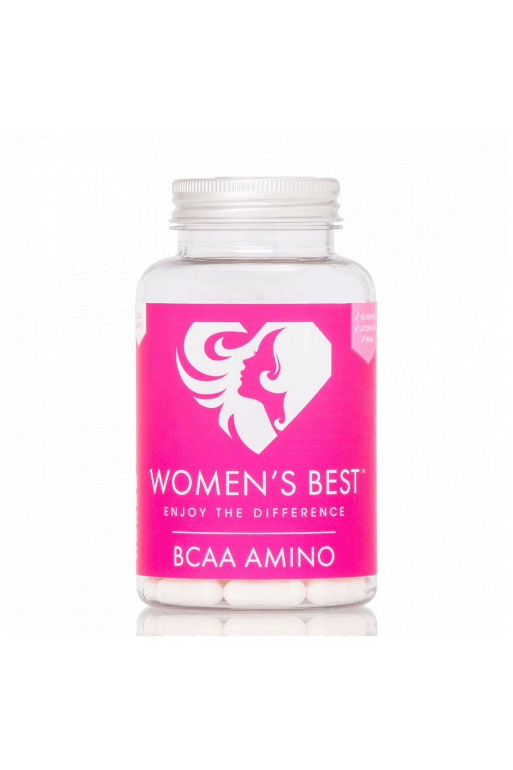 Women´s Best BCAA Amino 120 kapslí