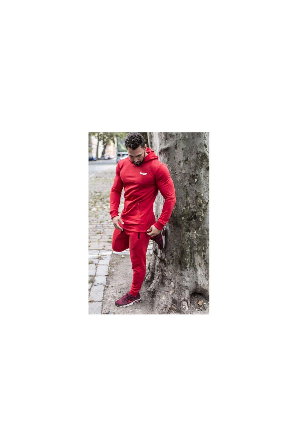 Pánská Mikina Exalted X1 - Červená