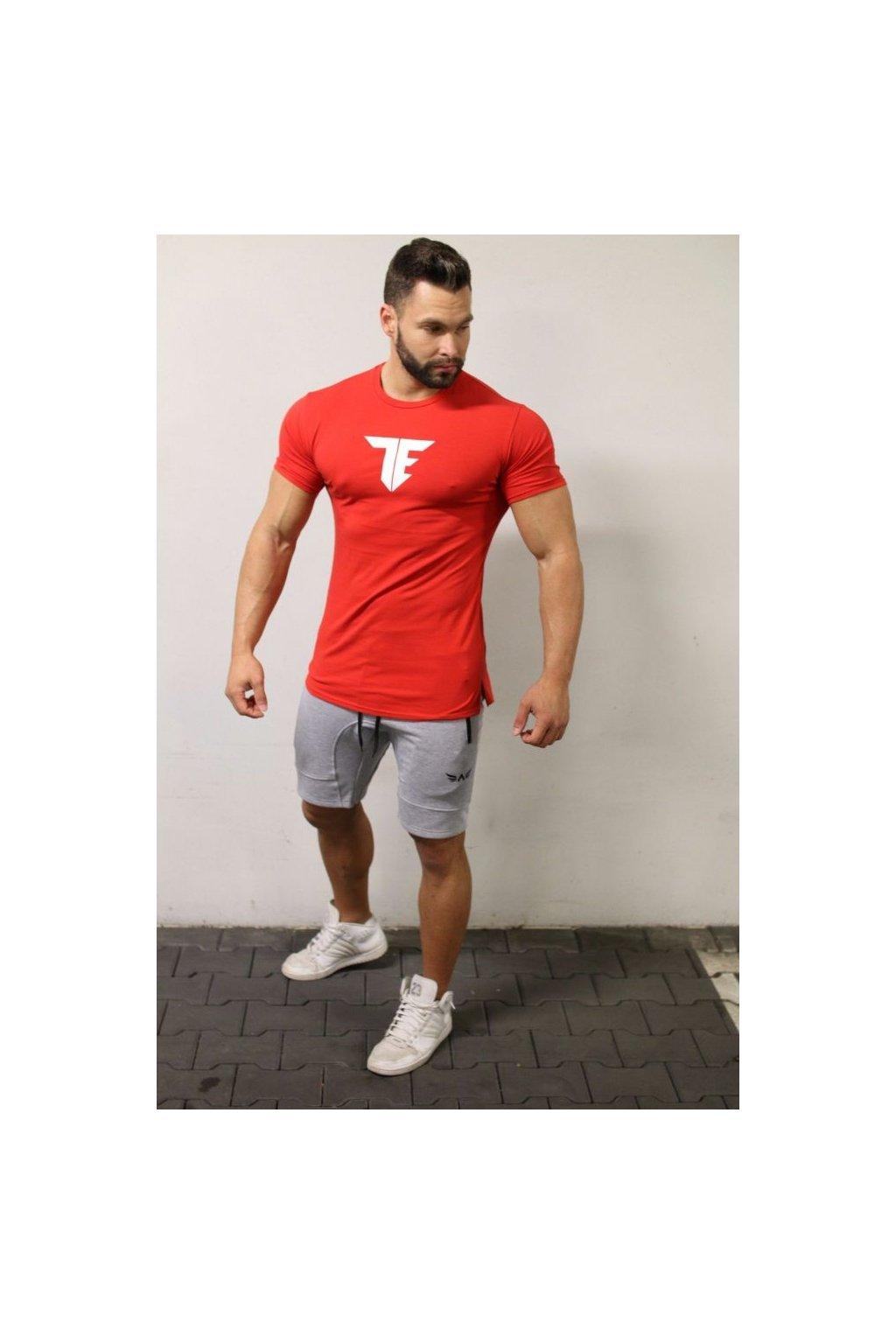 Pánské tričko Exalted T1 - Červené