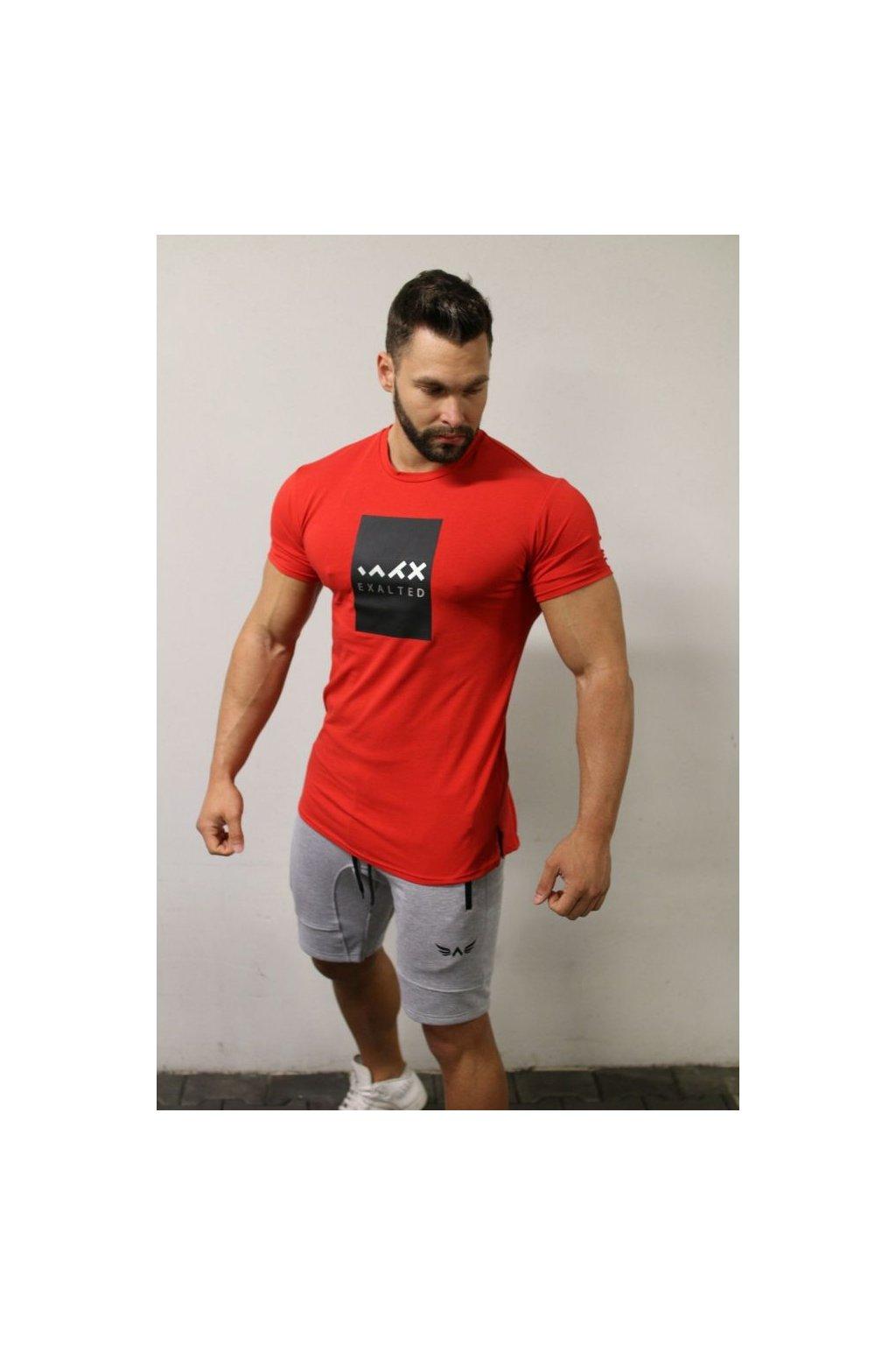 Pánské tričko Exalted E1- Červené