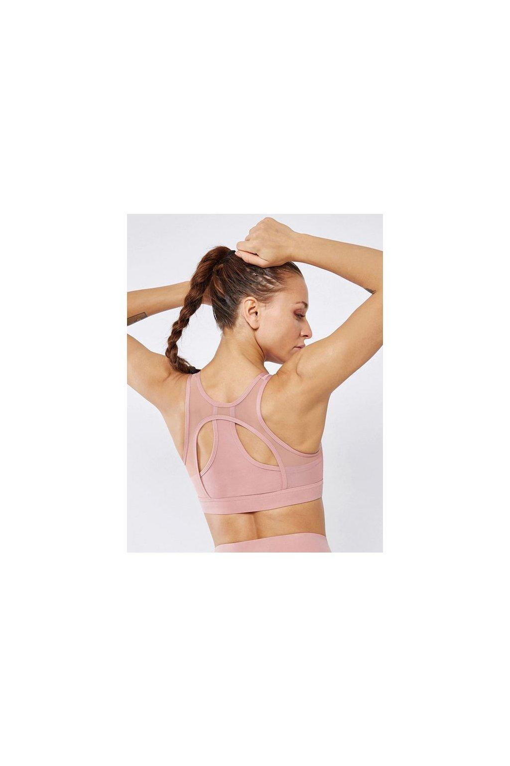 Sportovní podprsenka Active Mesh Pink