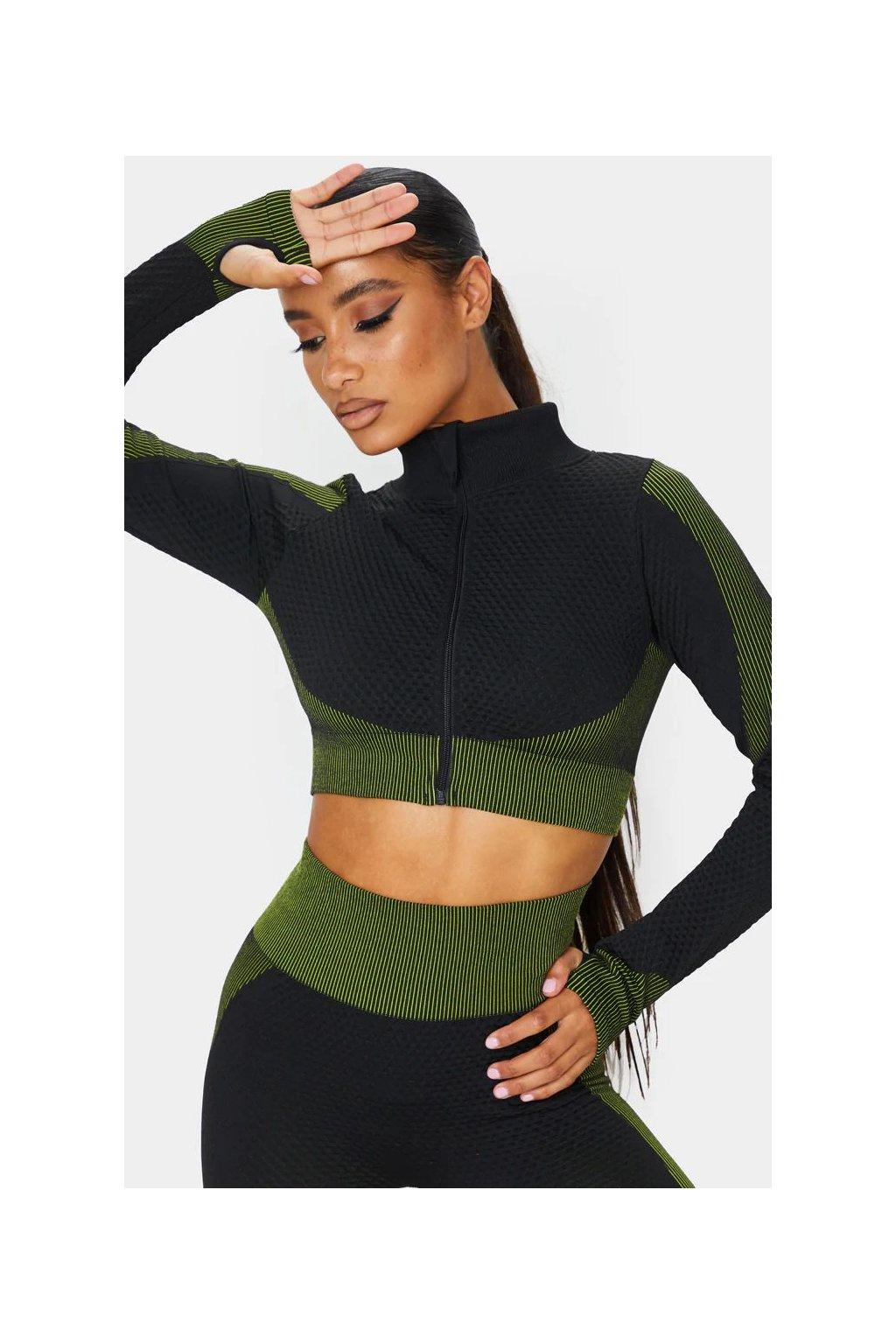 Dámský top Black Green