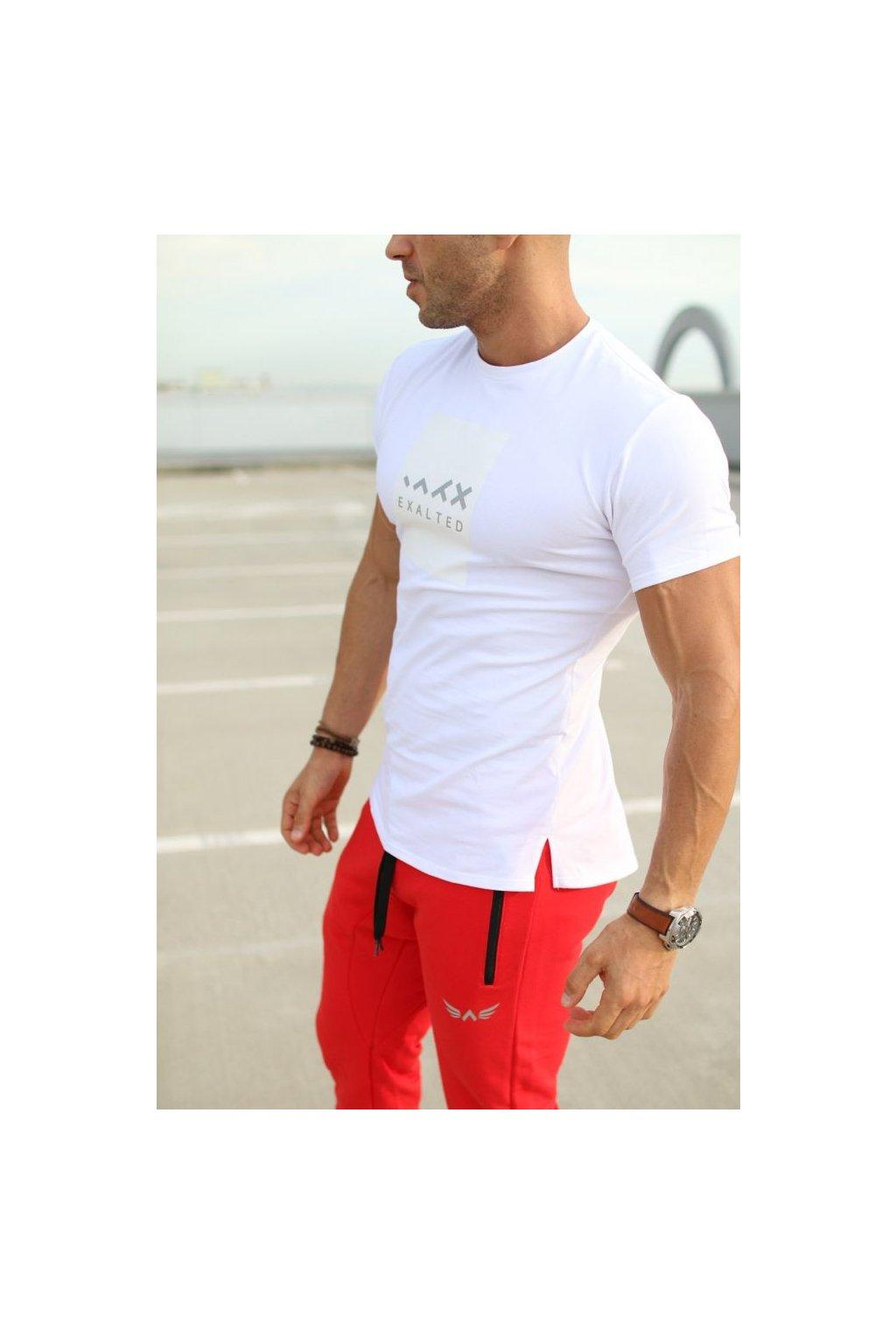 Pánské tričko Exalted E1- Bílé