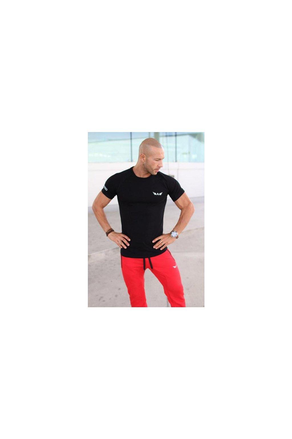 Pánské tričko Exalted - Černé