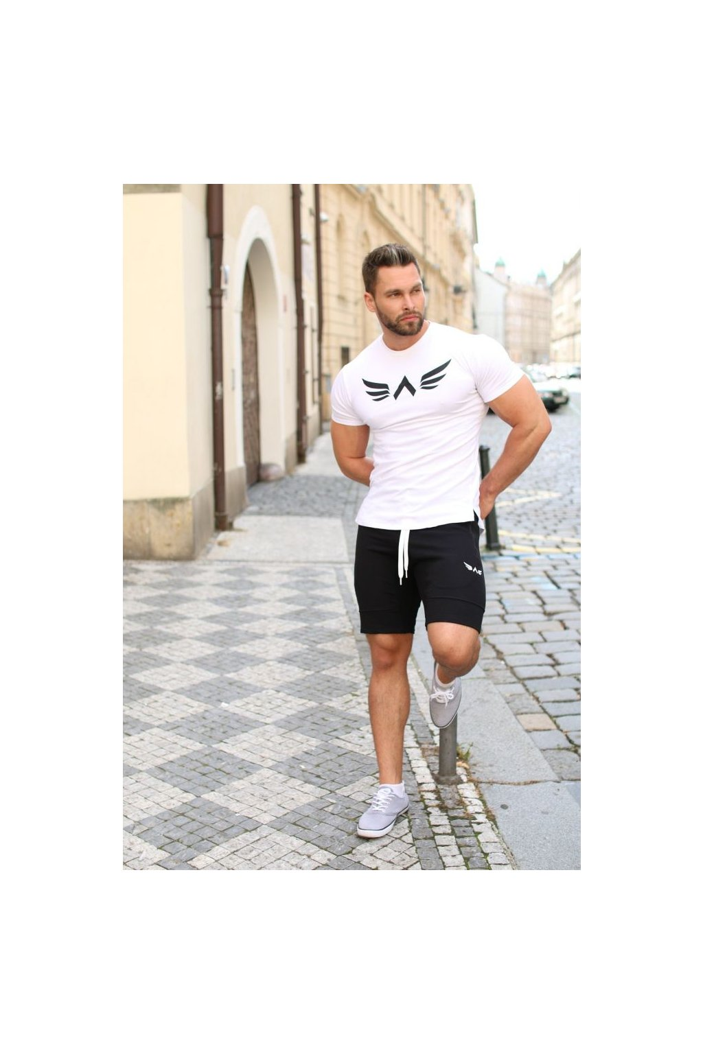 Pánské tričko Exalted X1 - Bílé