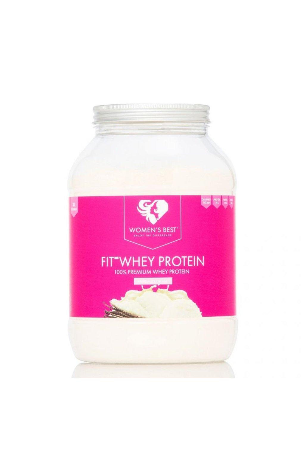 Women´s best Fit Whey Protein 1000g