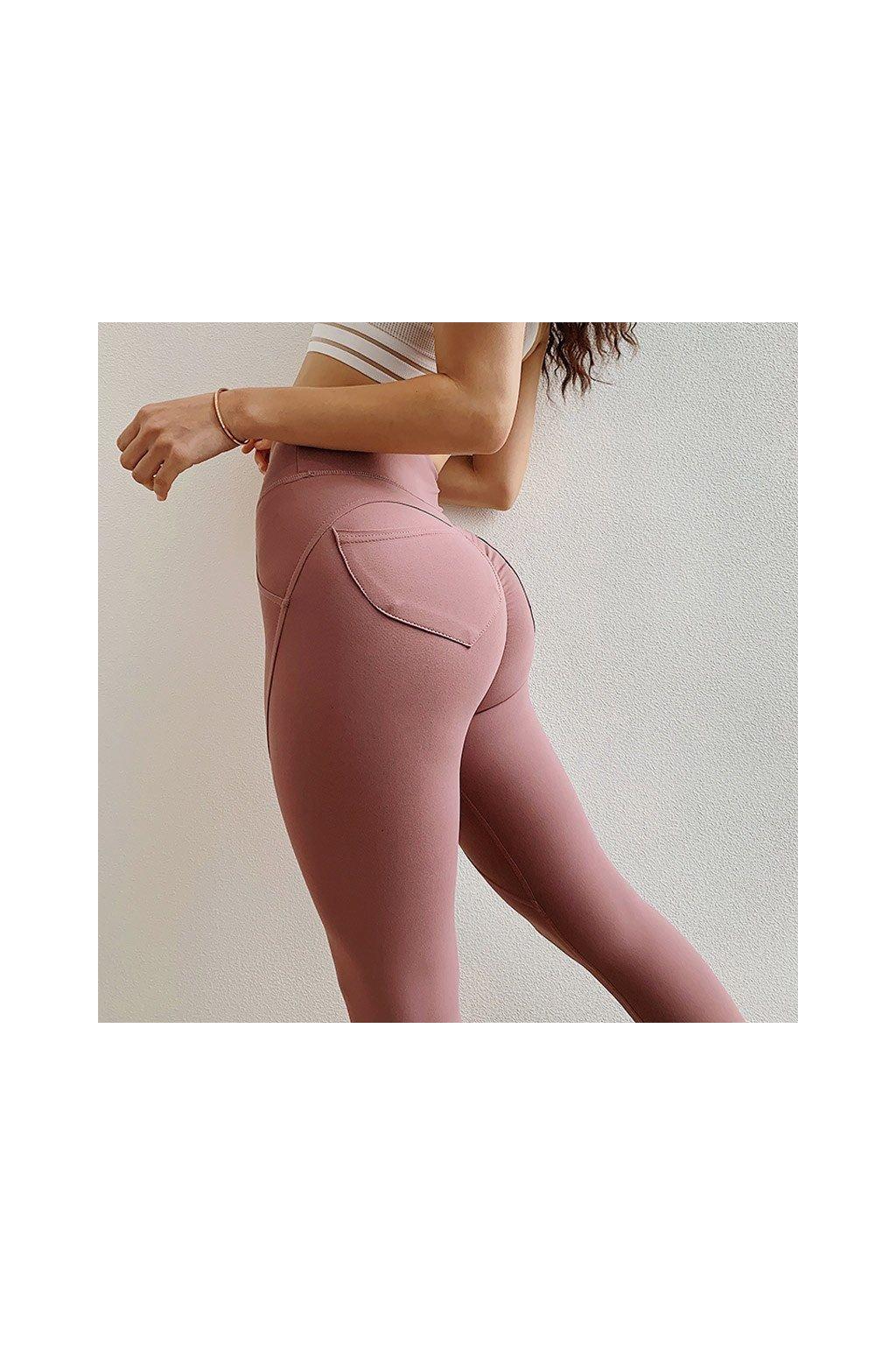 Dámské legíny Butt Pocket Pink