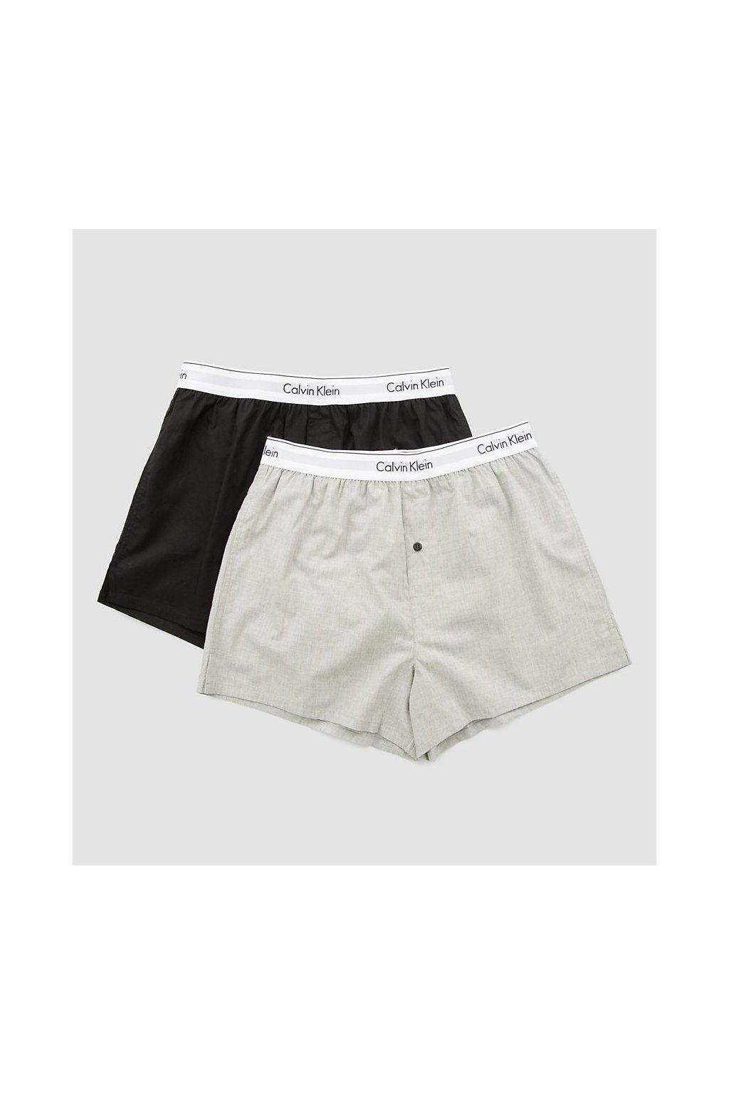 Calvin Klein 2Pack Trenky Black&Grey