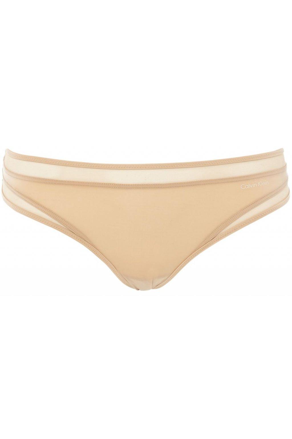 Calvin Klein Tanga Naked Touch Tělové