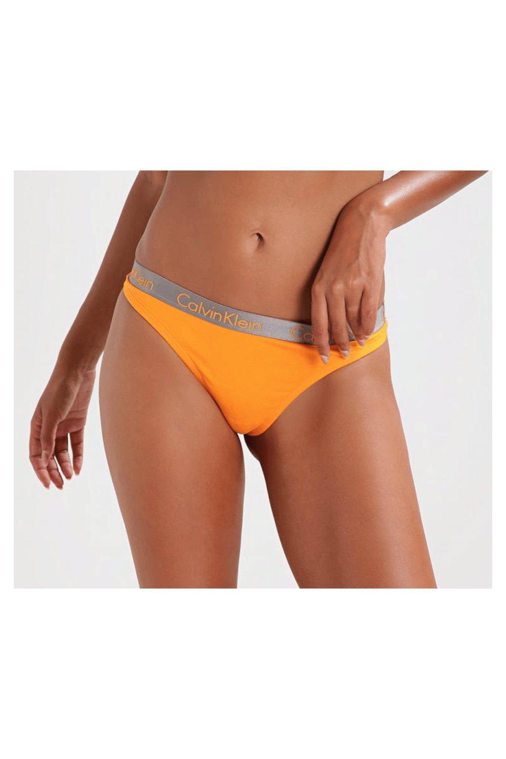 Calvin Klein Kalhotky Radiant Oranžové